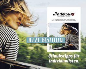 Neues Anderswo-Magazin im Zeitschriftenhandel