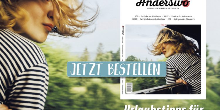 Neues Anderswo-Magazin jetzt im Zeitschriftenhandel