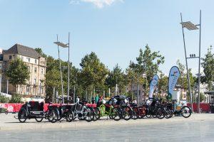 Tatkräftige Unterstützung fürs eCargobike-Event