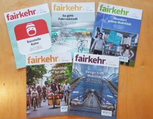 Fünf Hefte, fünfmal voller Einsatz