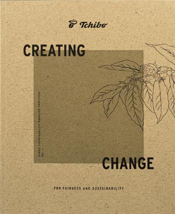Titelbild des Tchivo Yearbooks Nachhaltigkeit