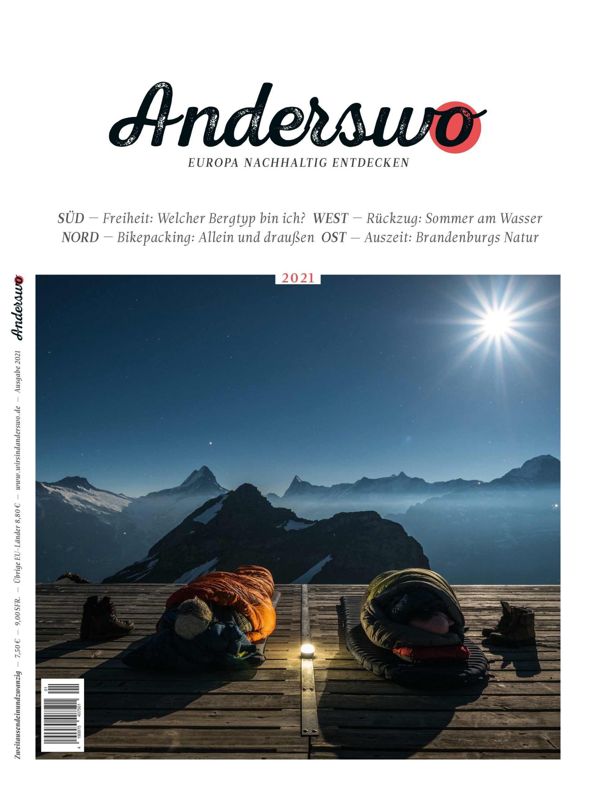 Anderswo Cover 2021