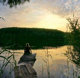 Urlaub vor der Haustür, hier an den Villeseen im Naturpark Rheinland